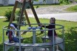 děti účastnící se dětského dne