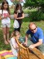 Dětský den - soutěže kolem vsi