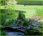 vodník - dětský den - pohádková cesta k rybníku Koníř
