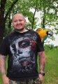 focení s papouškem