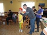 Představení masek na dětském maškarním karnevalu - Pipi dlouhá punčocha