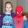 děti v kostýmech