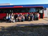 společná fotografie účastníků výletu do Dinoparku a Zoo v Plzni