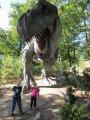 děti u dinosaura