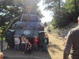 děti u tanku