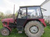 prvomájový průvod - traktor