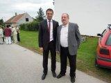 pan starosta obce Hvozdec s panem hejtmanem Jihočeského kraje